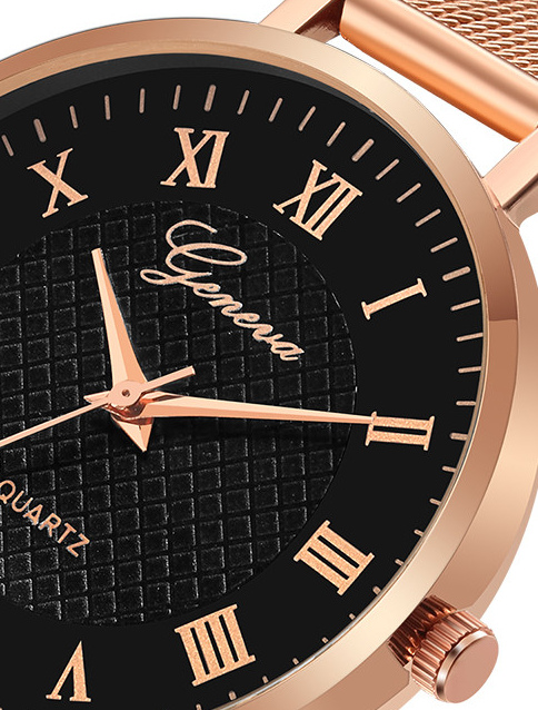 Geneva Carrés Roman luxusní dámské hodinky Geneva Carrés Roman luxusní  dámské hodinky empty d2e69331614